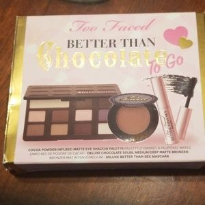 Too Faced Better Than Chocolate to go set